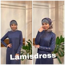 Платье базовое с пуговицами